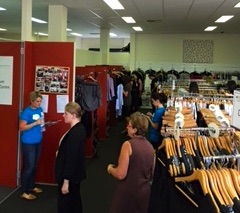 Dress for Success Marrickville Showroom - changing lives with gender equality in the workplace